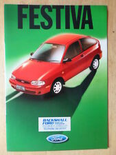 FORD FESTIVA orig 1997 sales brochure + Colour Schemes + specs - Australia