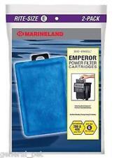 Marineland Emperor Cartridge Rite-Size E 2 Pack