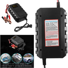 Intelligent 12V Volt 20A Amp LCD Car Van Motorcycle Lead Acid Battery Charger