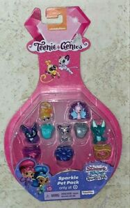 New Teenie Genies Shimmer and Shine Sparkle Pets ~B3~