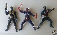 Masked Kamen Rider Hibiki Ibuki Todoroki Set of 3 Action Figures HD BANDAI Used