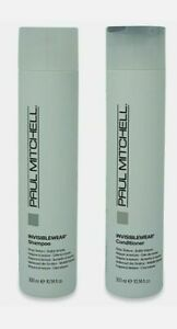 Paul Mitchell Invisiblewear Shampoo & Conditioner 10oz  Duo New Free Shipping