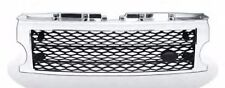 LR3 05-09 Discovery 3 Honeycomb Mesh Front Grille Land Rover L319 Chrome & Black
