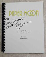 "Ryan O'Neal ""Moses Pray"" Signed Full Movie Script ""Paper Moon"" 1973 Film Movie"