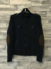 Woolrich Buttons Up Pocket Wool Cardigan Size S