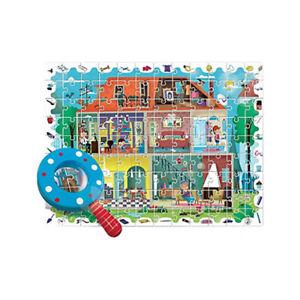 Puzzle Baby Detective La mia Casa Ludattica 108 pz