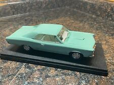 Mint Green 1966 Pontiac Gto 1:25 Model Kit Adult Built With Display Case