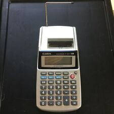 Canon Palm Printer P1-DH V Business & Tax Calculator 12 Digit - Tested and Works