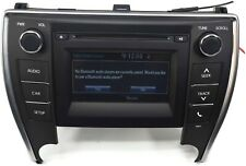 2016-2017 TOYOTA CAMRY STEREO RADIO CD PLAYER TOUCH SCREEN 86140-06660 re# biggs