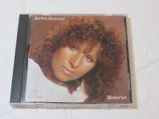 Memories by Barbra Streisand CD Oct-1990 Columbia Memory You Don't Bring Me Flow