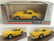 BOX MODEL 8417 - Ferrari 275 GTB 4 Stradale - 1:43