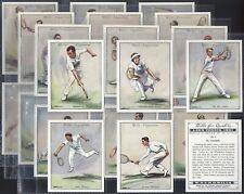 WILLS-FULL SET- LAWN TENNIS 1931 (L25 CARDS) - EXC+++