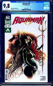 Aquaman #57 CGC 9.8 1st ANDY CURRY BIRTH BABY DC FUTURE STATE KEY ISSUE NM/MT
