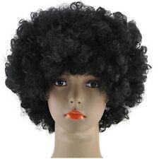 70'S Curly Fancy Dress Funky Afro Hair Wigs Disco Clown Men's/Ladies Costume