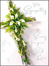 Sympathy and condolence greeting cards ebay jonny javelin so sorry for your sad loss deluxe sympathy card v236 thecheapjerseys Gallery