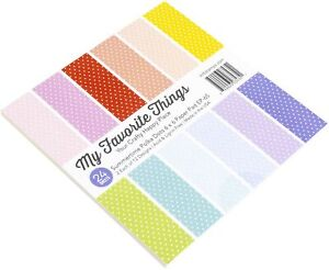 """My Favorite Things Single-Sided Paper Pad 6""""X6"""" 24/Pkg-Summertime Polka Dots"""