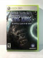 Peter Jackson's King Kong (Microsoft XBOX 360, 2005) Complete Tested Fast Ship