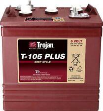 Batteria TROJAN T-105+  DEEP CYCLE acido libero - 6V/225Ah - Lunga durata