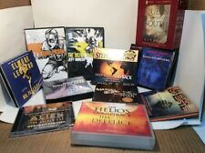 11 pc Lot CD AUDIO BOOKS FICTION/THRILLERS Coonts, Gorman, Dick, Card, Reborn