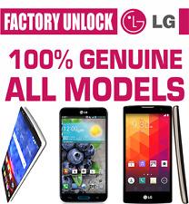 LG FACTORY UNLOCK CODE SERVICE FLEX G3 G2 G4 G5 G6 PHOENIX FAST WORLDWIDE