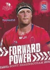 2017 TapNPlay Super Rugby Union FORWARD POWER Scott Higginbotham REDS #FP-09