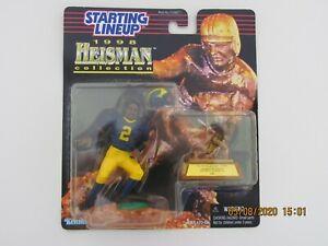 STARTING LINEUP SLU 1998 HEISMAN CHARLES WOODSON MICHIGAN 1997 FOOTBALL HELMET