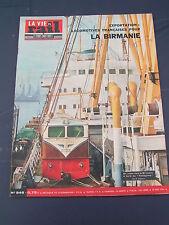 vie du rail 1964 946 Myanmar Railways SILLé GUILLAUME ROUESSé VASSé DOMFRONT NAN