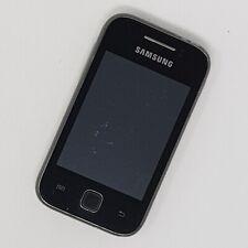 "Samsung Galaxy Y 3G 3"" - S5360 - Grey - Working Condition - Unlocked - Fast P&P"