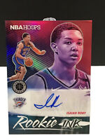 PANINI NBA HOOPS ISAIAH ROBY ROOKIE INK FLASH  AUTO PINK PRIZM GEM MINT THUNDER