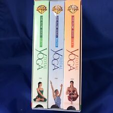 Total Yoga The Flow Series (VHS, 2001, 3 Tape Set Three Volume Set)