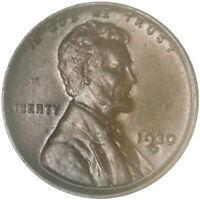 1930 D Lincoln Wheat Cent About Uncirculated Penny AU