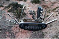 Bicycle Puncture Repair Kit & Multi Function Tool Bike Cycle Maintenance tools