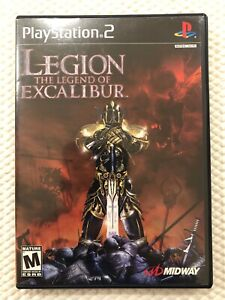 Legion : The Legend of Excalibur ( Sony PlayStation 2 ) PS2 ,Disc W/Case