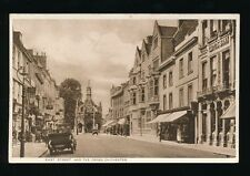 Sussex CHICHESTER East St and Cross c1920/30s? PPC