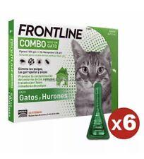 FRONTLINE COMBO GATOS Y HURONES, ANTIPARASITARIO - 6 PIPETAS CAD 2022