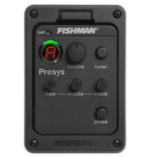 FISHMAN PRESYS/AERO 101 CLASSIC ACOUSTIC GUITAR PREAMP EQ PICKUPS TUNER PIEZO