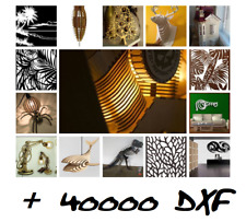 Collection 40000  dxf files vector panel plasma laser cut CNC dwg cdr metal art