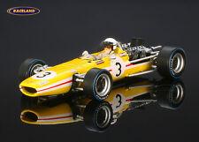 McLaren m5a BRM v12 Bonnier Racing f1 6 ° GP Italia 1968 Jo Bonnier, Spark 1/43