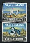 New Zealand 1964 SG#822-3 Health Stamps, Birds MNH Set #A74523