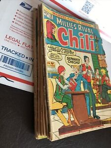 Chili, Millie's Rival #26 (Marvel, Dec.'73) Mixed Lot (10 Issues 70-73)as-is