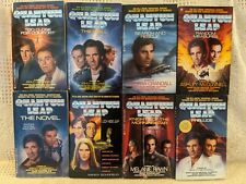 Quantum Leap 8 Paperback Books Lot Prelude The Novel Loch Ness Leap The Wall Tv