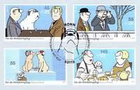 BRD 2011: Loriot! Wohlfahrt Nr 2836-2839! Bonner Ersttags-Sonderstempel! 1A 1602