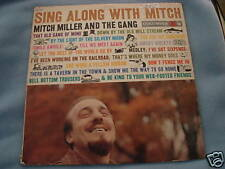 VINTAGE LP ALBUM SING ALONG WITH MITCH MILLER & GANG