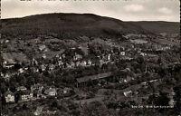 Bad Orb Spessart alte AK Hessen 1956 gelaufen Gesamtansicht Blick zum Kurviertel