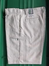 NWT Men's Izod XFG Cargo Golf Shorts  Sand   34