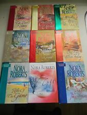 Nora Roberts Books, Hidden Gems Series, Lot of 9 Books