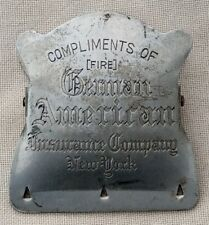Antique German American Insurance Company Advertising Aluminum Paper Clip NYC
