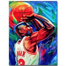 Michael Jordan Dunks Super Basketball Star Art Silk Poster Print 15x20 inch