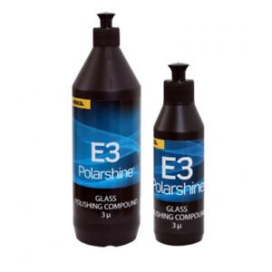 Mirka Polarshine E3 glass polishing compound 250ml & 1ltr bottles