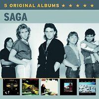 SAGA - 5 ORIGINAL ALBUMS (VOL.2) 5 CD NEU